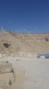 Amphitheater which has been restored. Some is original.